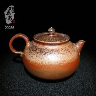 艺术匠心杨树,扁平壶