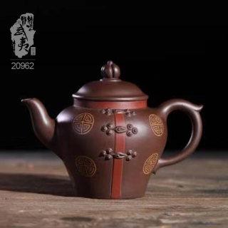 紫砂壶大师冯云华,唐风女壶