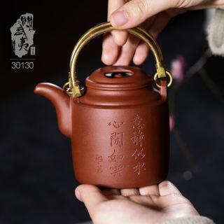 紫砂工艺师余彦霖,洋桶壶