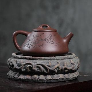 紫砂工艺师余彦霖,梅花石瓢