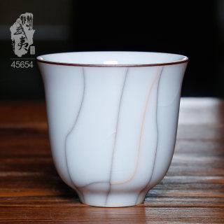 青瓷大师潘建波,闻香杯(月白釉)
