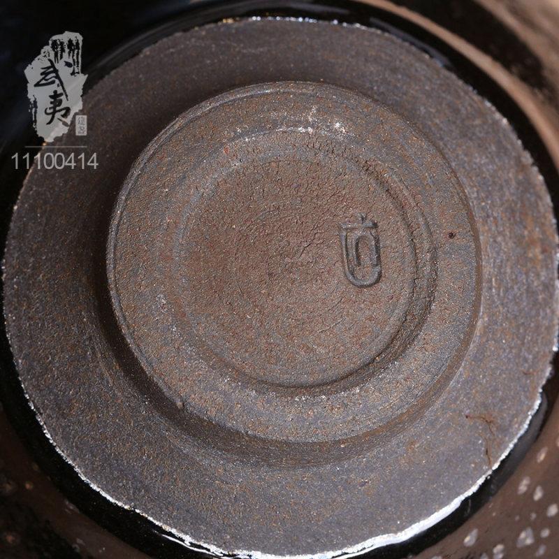 建盏大师李达,束口鹧鸪茶盏